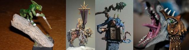 Fantasy Lead Miniature Award Winners
