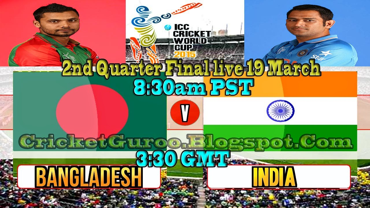 India vs Bangladesh, 2nd Q.F (WC2015)