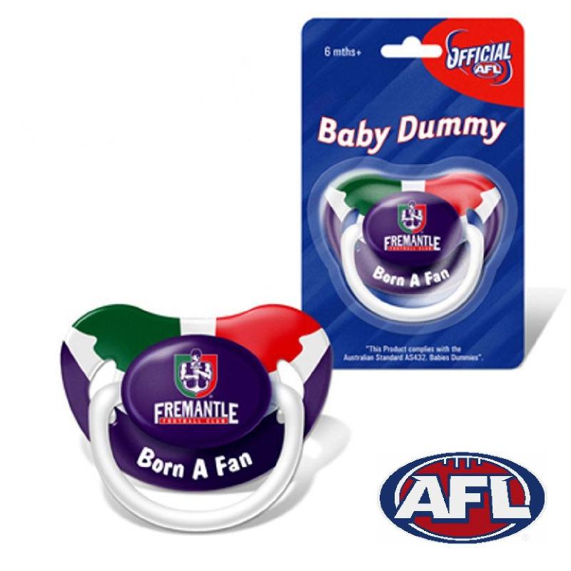 Novelty Baby Gifts Australia : Dorkerland novelty afl baby dummy pacifier fremantle