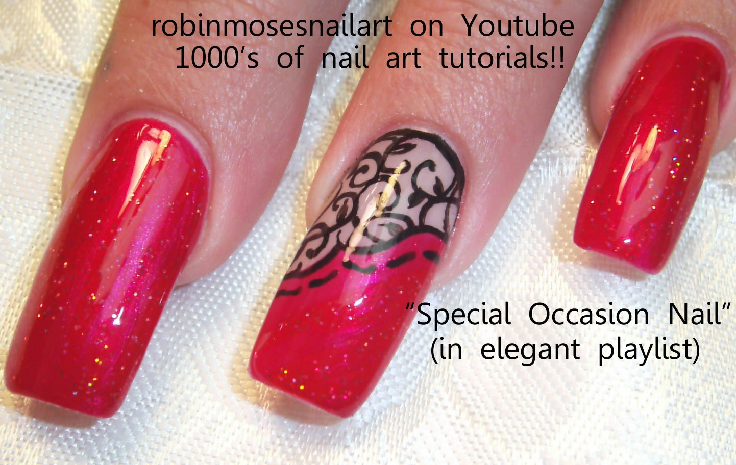 rainbow braided hair with ladies nail art ro easy black and red nails