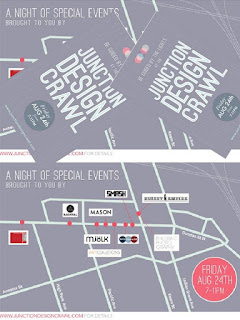 Junction Design Crawl 2012 Map: A Night of Special Events Friday, August 24, 2012, 7–11pm by junctiondesigncrawl.com