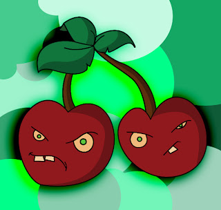 How To Draw Plants vs Zombies Cherries