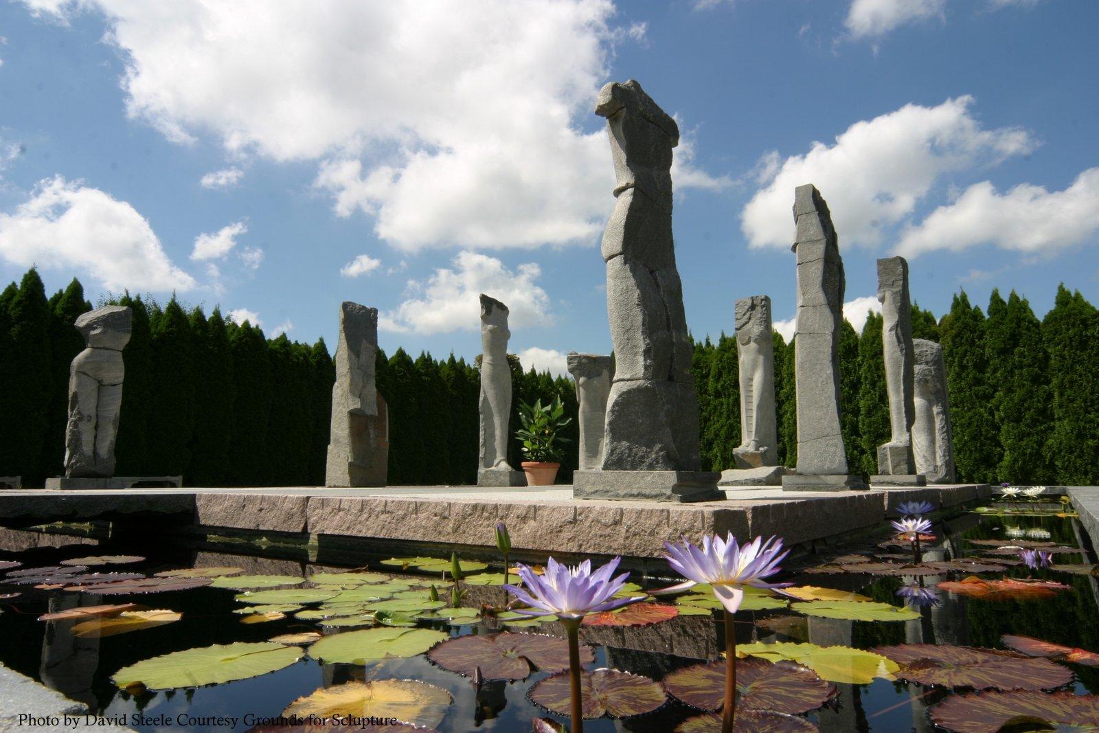Travel oyster grounds for sculpture for Johnson s farm nj