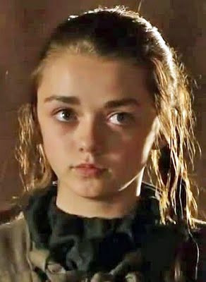 Lexicopia: Game of Thrones cast gallery (Season One) Maisie Williams 2011