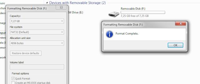 Cara Mengatasi Flash Disk Tidak Bisa Di Format Unable To