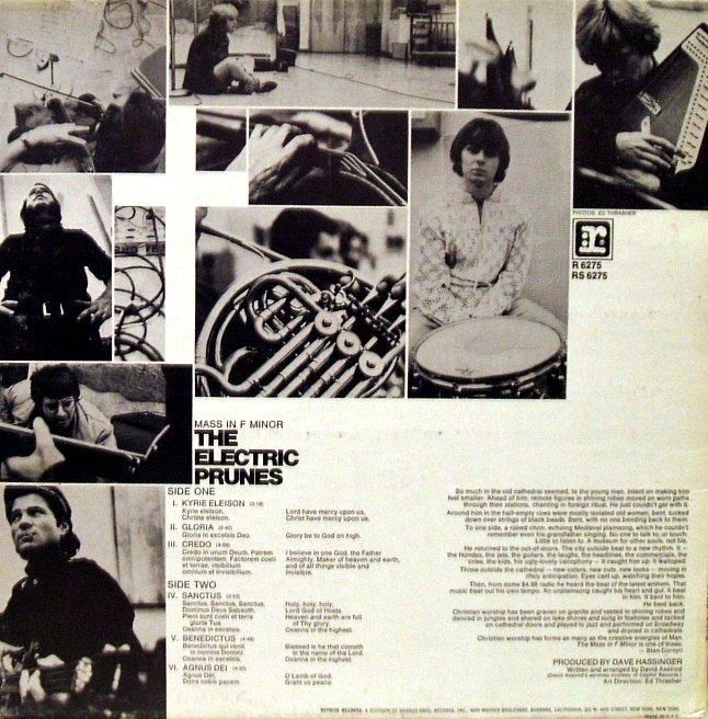 Vinyl Exam Mass In F Minor The Electric Prunes
