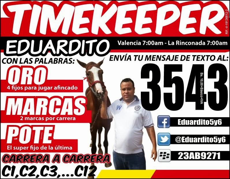 TIMEKEEPER EDUARDITO