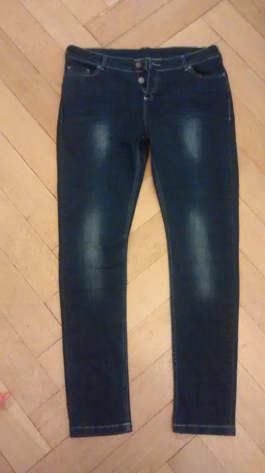 me&i faire Jeans Runzelfuesschen