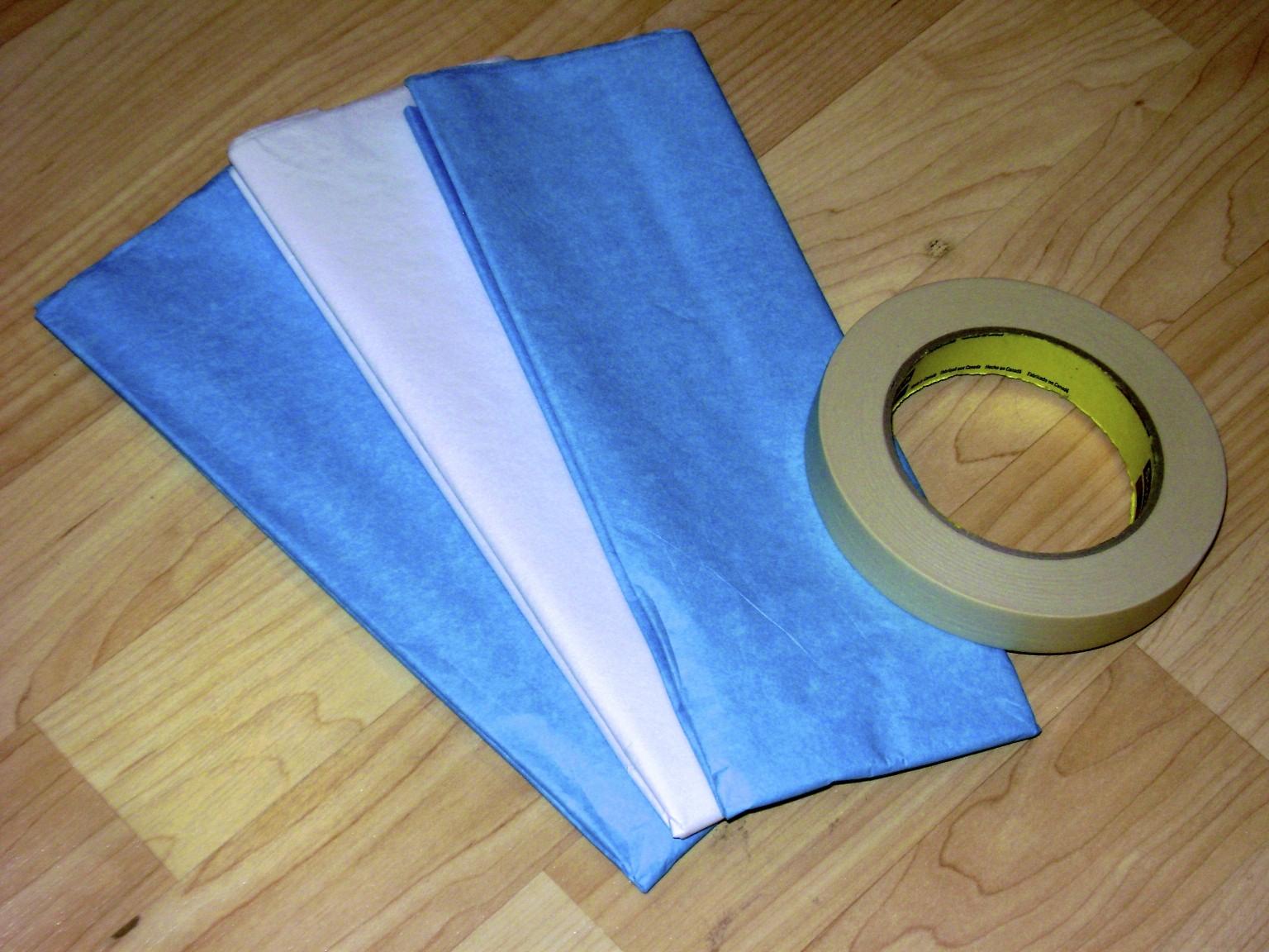 make cheerleading pom poms crepe paper