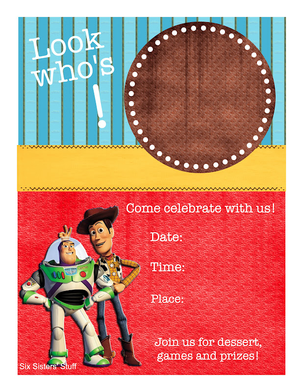 Toy Story Themed Birthday Party With Printables Six Sisters Stuff