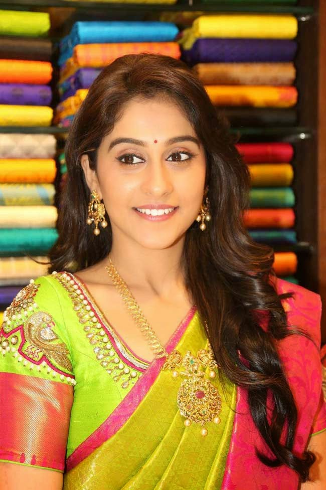 Regina Cassandra In Kanchipuram Silk Saree
