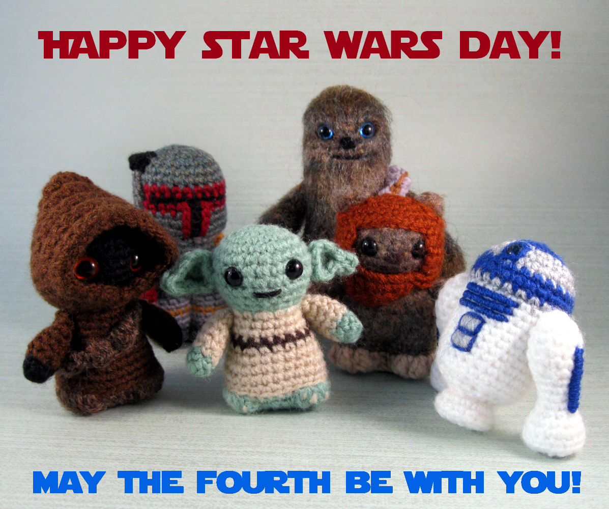 Lucyravenscar crochet creatures happy star wars day happy star wars day bankloansurffo Images