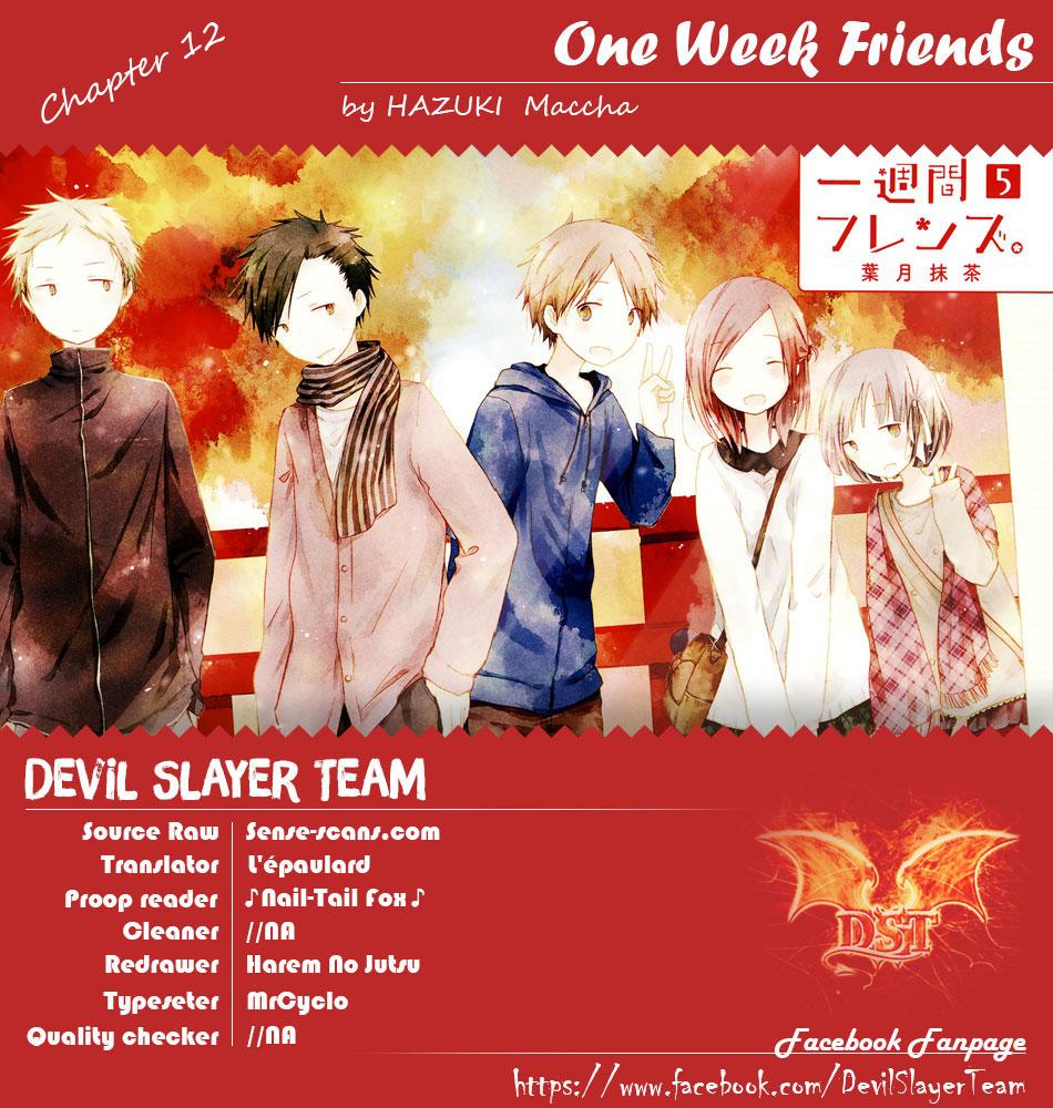 One Week Friends DST Chap 12 - Next Chap 13