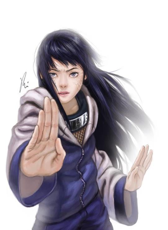 hyuga hinata cool artwork 05