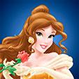 Invitacion de Cumpleaños de Bella y la Bestia Princesas Disney