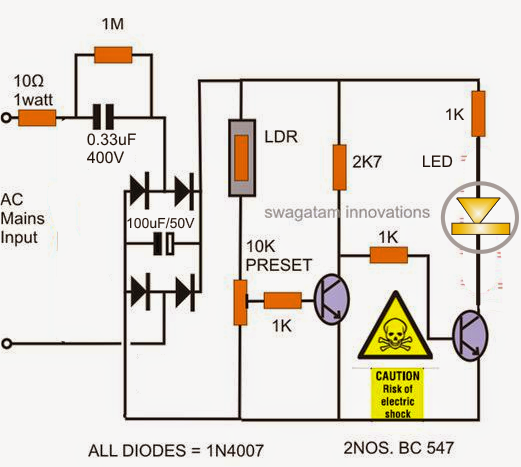 How to Build a Automatic LED Candle Light Circuit