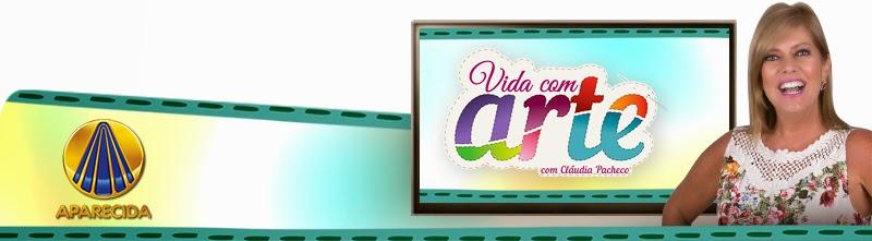 Aparador Mesa Retratil ~ Blog Alma Missionária Cláudia Pacheco estreia programa u201cVida com Arte u201d na TV Aparecida u200f