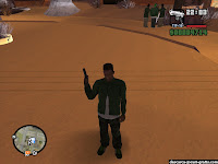 GTA San Andreas Snow Mod - screenshot 9
