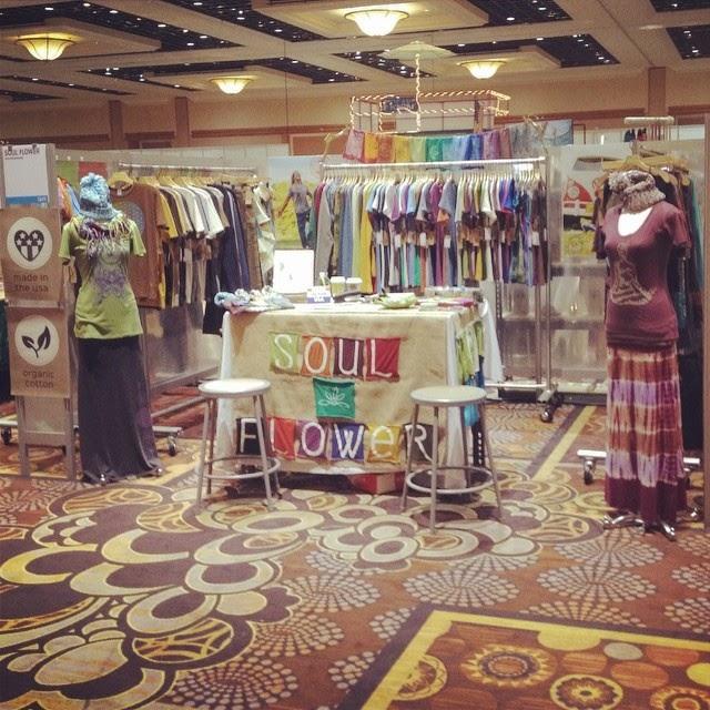 soul+flower+booth+vegas - Soul Flower Booth at POOL in Las Vegas