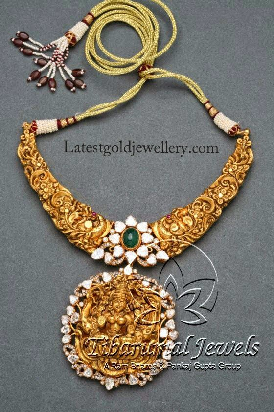 Divine temple nakshi necklace latest gold jewellery designs latest temple jewelry designs aloadofball Gallery