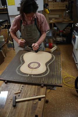 epaisseur table guitare classique