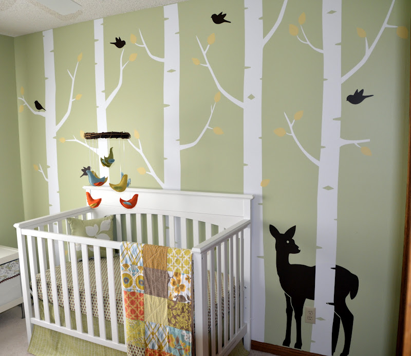 Woodland Forest Baby Room