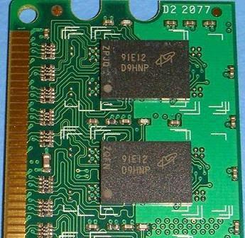 DDR2 và DDR3 đóng gói kiểu BGA.