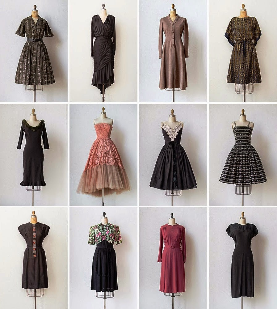 Cheap Vintage Dresses Reflect Your Temperament - Vintage Redo