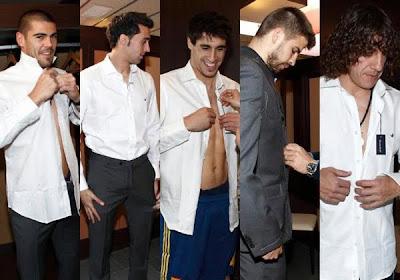 Brooksfield trajes selección española de fútbol