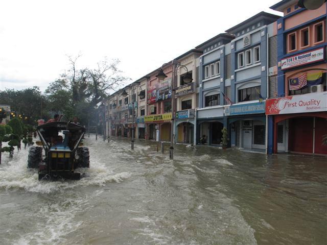 Banjir besar di Perlis