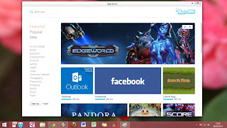 Start Menu Windows 8 Terlihat Keren