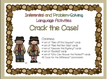 http://www.teacherspayteachers.com/Product/Inferential-and-Problem-Solving-Language-Activity-Pack-319566