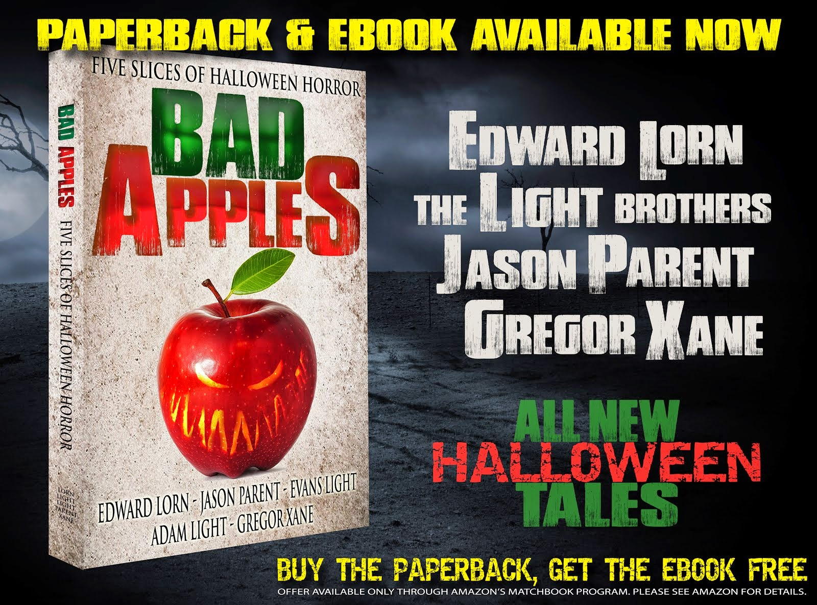 Bad Apples: Paperback & eBook Available Now!