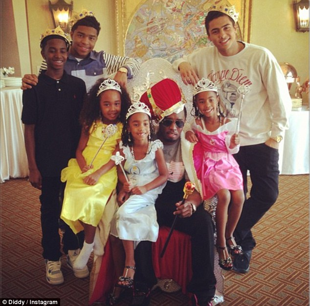 P Diddy Gets Crowned By Children