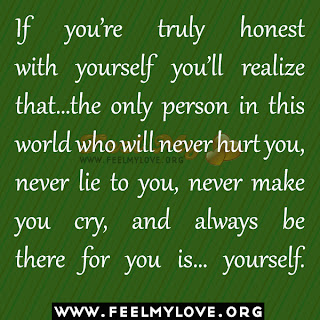 If you're truly honest with yourself