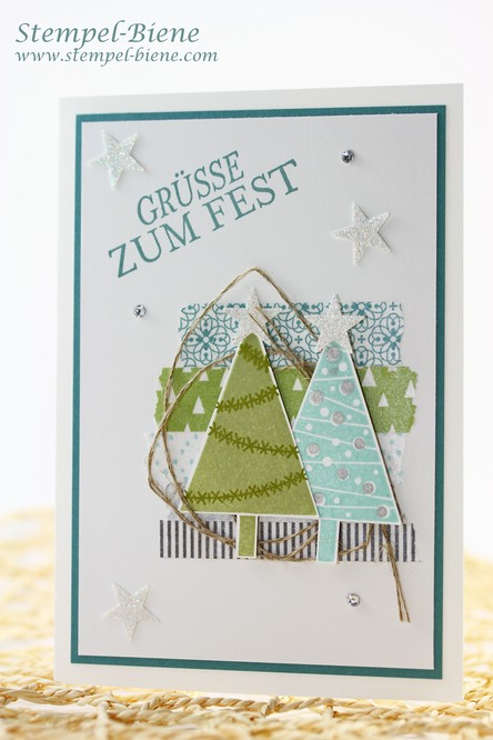 Stampin' Up Christbaumfestival, Stampin Up Frühjahr- Sommerkatalog 2015, Stampin Up Sale a bration 2015, Stampin Up Stempelbarty buchen, Stampin Up Sammelbstellung