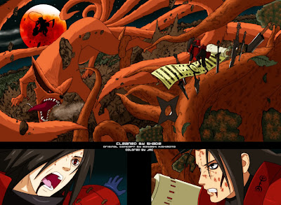 Video Madara vs Hashirama