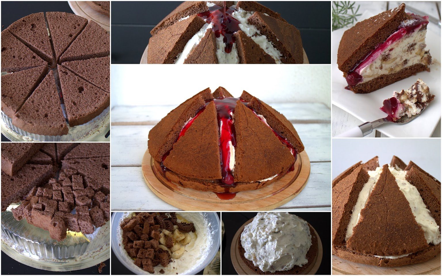 Çikolatalı Yanardağ Pasta Tarifi