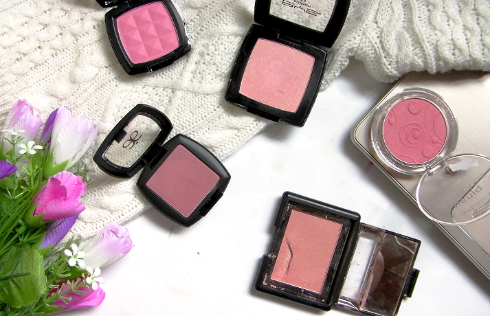5 drugstore blushes review swatches