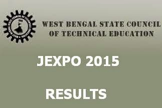 WBSCTE JEXPO 2015 Results Merit List