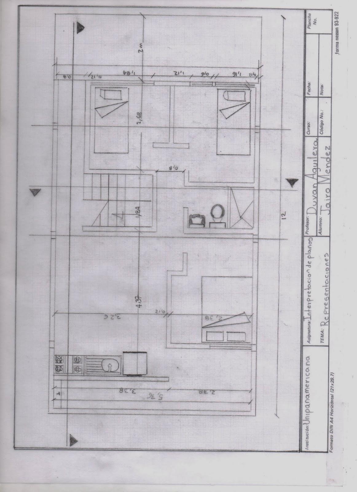 Dise o basico de interpretacion de planos for Simbologia de planos arquitectonicos