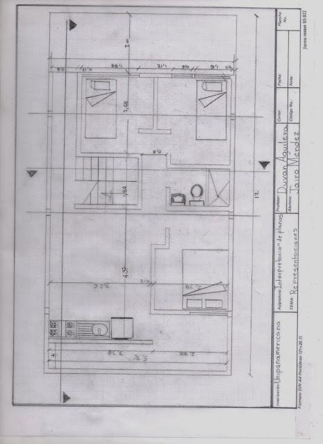 Dise o basico de interpretacion de planos for Simbologia en planos arquitectonicos