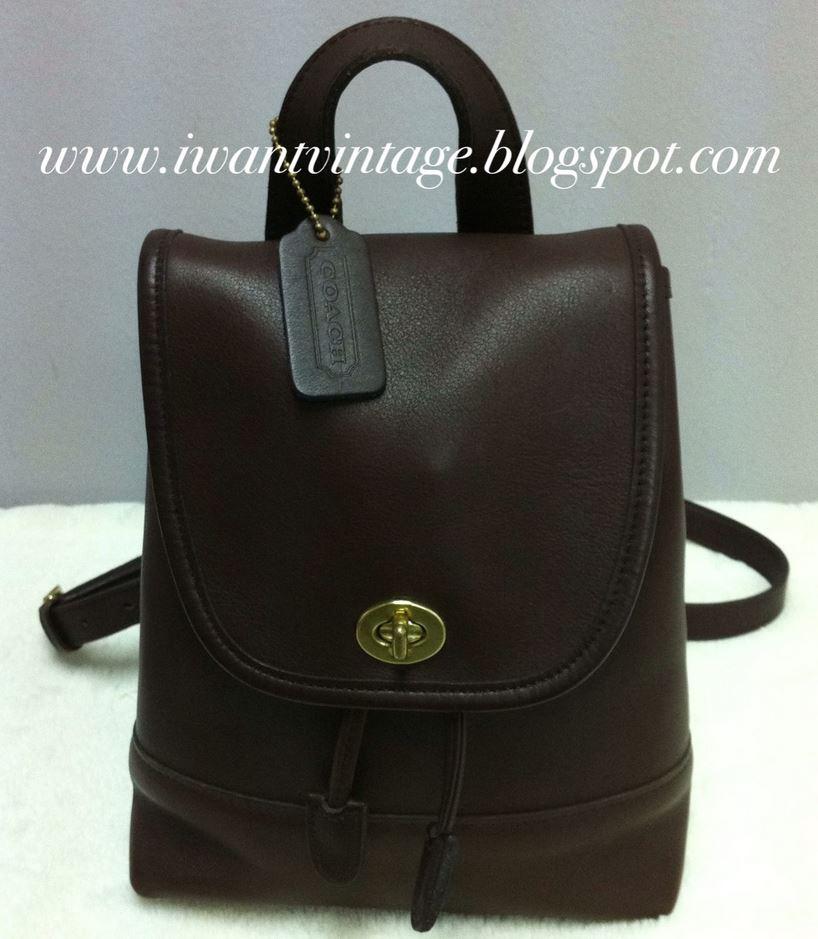 I Want Vintage Vintage Designer Handbags Coach Vintage