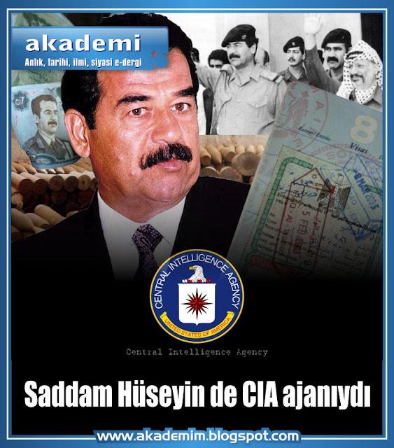 Saddam Hüseyin de C.I.A. ajanıydı