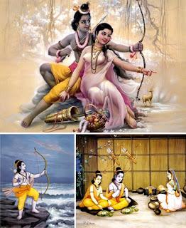 Художественные иллюстрации к древнеиндийскому эпосу Рамайяна