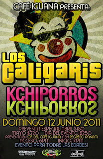 Los Caligaris en Monterrey 2011