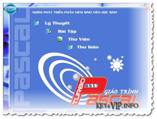 Giáo trình tiếng Việt học lập trình Pascal SSDG