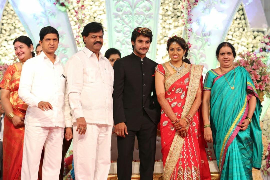 Aadi Aruna wedding reception photos-HQ-Photo-9