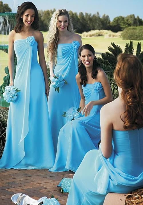 simple bridesmaid dress for summer wedding