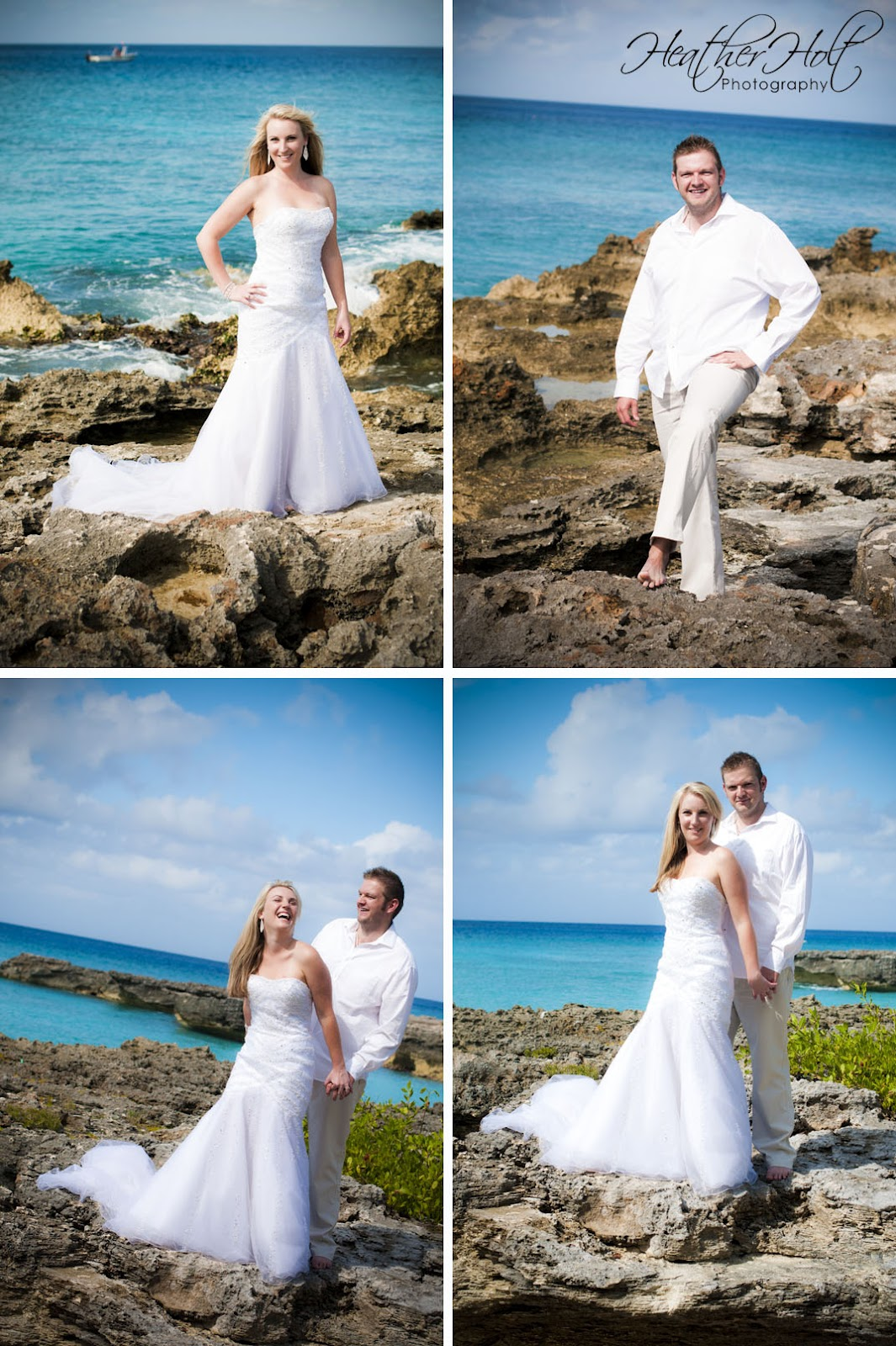 Trash the Dress Cayman Style! | Heather Holt Photography: Cayman Islands